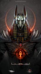 Egyptian Doggo of riperino by TheFearMaster