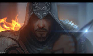 ezio daily painting by TheFearMaster