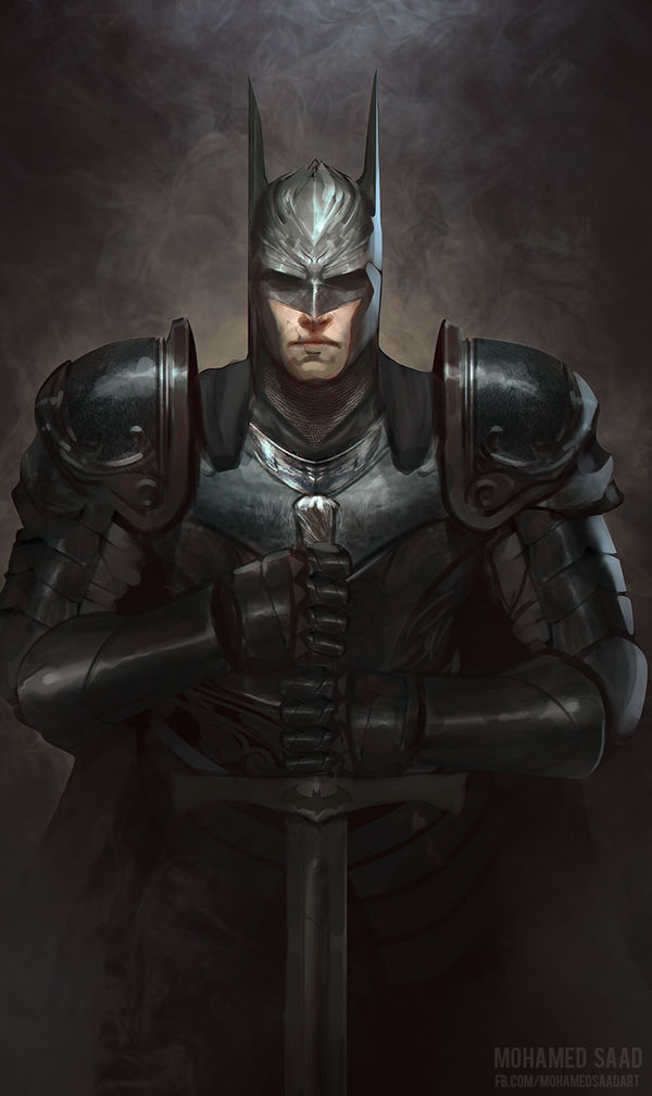 the Dark knight by TheFearMaster