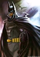 The Dark Knight by kevzter