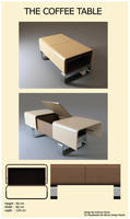Coffee Table by geijutsutekinotenshi