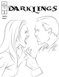 Issue 1 Cover Lineart by RavynSoul
