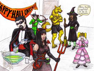 Halloween 2013 by RavynSoul