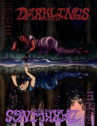 Darklings Issue 2 cover B by RavynSoul