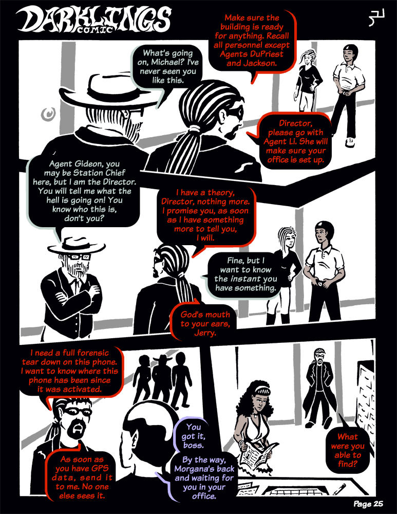 Darklings - Issue 6, Page 25 by RavynSoul