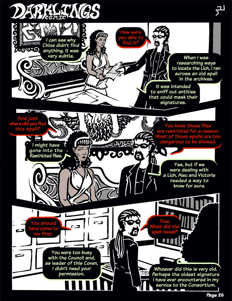Darklings - Issue 6, Page 26 by RavynSoul