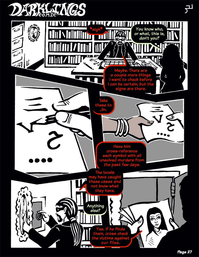 Darklings - Issue 6, Page 27 by RavynSoul