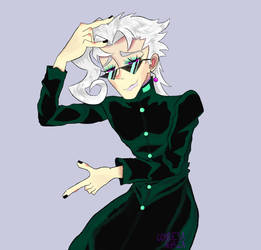 The cooler Kakyoin by condesa-agria