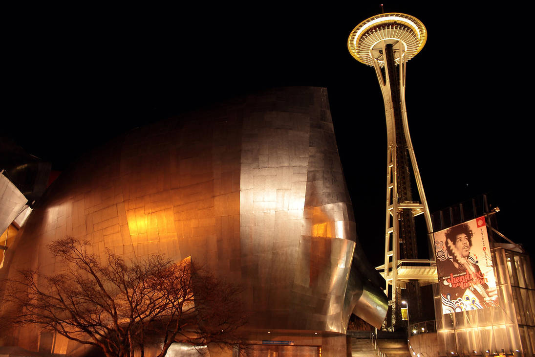 Space Needle by gromwulf