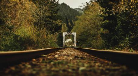 Furry Creek Bridge by gromwulf