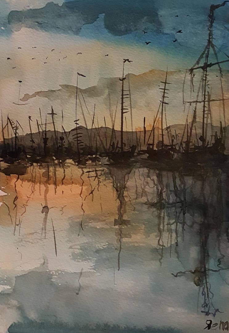 Boats by gromwulf