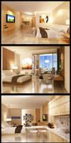 Interior Hotel D'Golfer by vaD-Endz