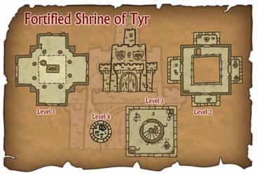 Shrine of Tyr by DarthAsparagus