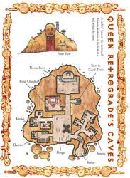 Queen Retrogrades Caves final by DarthAsparagus