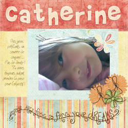 Digiscrap : Catherine by parahoty