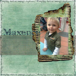 Digiscrap : Maxence by parahoty