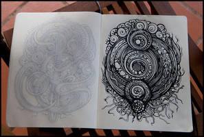 Sketchbook By Irina Vinnik by MuhammadRiza