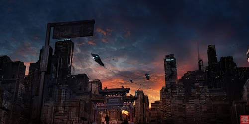 Sky Patrol by MuhammadRiza