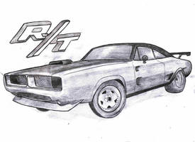 Dodge Charger RT 1969 by PizDexXx