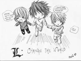 L : Change the World by Kuriguri