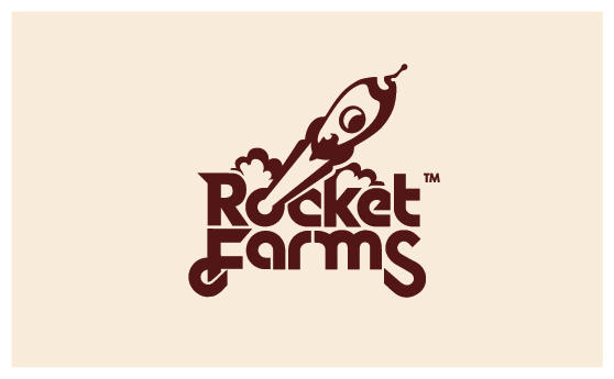 Rocket Farms - Logo by Neverdone