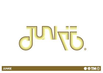Junkie - Logo by Neverdone