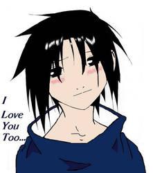 Sasuke In Love by Yamaine