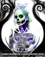 Event Flyer - The Nightmare Before XMas by CauseThought