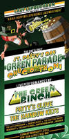 Green Parade - St. Patrick's Day Themed Flyer by CauseThought