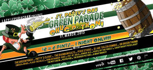 Green Parade - St Patrick's Day Themed Flyer by CauseThought