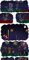 Bagbean Gift- July 4th and Fireworks by MiniDragonfly