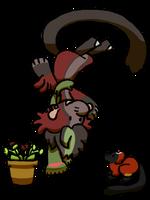 Bagbean Gift- Lemus rufftrap by MiniDragonfly