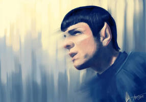 Spock by margaw
