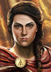Kassandra by margaw