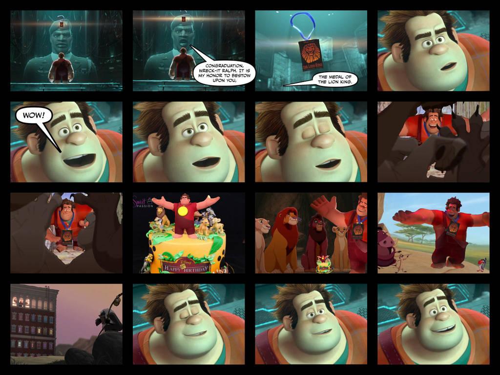 Wreck-It Ralph wins The Lion King Award Part 1 by EmilioKiara