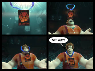Wreck-It Ralph wins The Lion King Award Part 2 by EmilioKiara