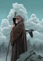 The Wizard's Calling by allendouglasstudio