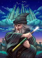 The Wizard of Rondo by allendouglasstudio