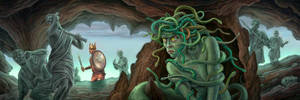 The Gorgon by allendouglasstudio
