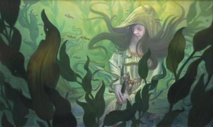 Lady of the Lake by allendouglasstudio