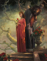 Beauty and the Beast by allendouglasstudio