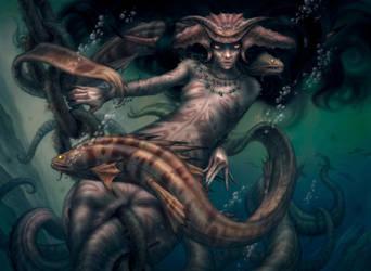 Deep Witch by allendouglasstudio
