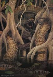 Naga's Respite by allendouglasstudio