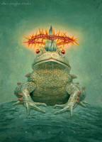 Frog Prince by allendouglasstudio