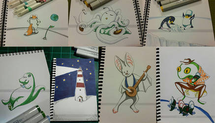 Sketch Challenge Results by apples-ishness