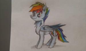 Rainbow Dash by LW9510
