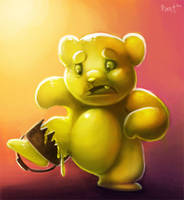 DAY 3. Gummy Bear Trap (35ish Minutes) by Cryptid-Creations