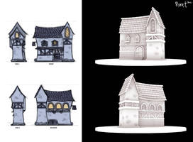 3D Fable House by Cryptid-Creations