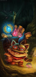 League of Legends - Preparing for Season III by Cryptid-Creations
