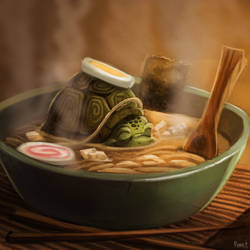 DAY 160. Turtle Soup (30 Minutes) by Cryptid-Creations